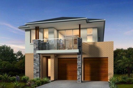 Fachada de casa moderna de dos pisos 2 fachadas de casas - Estilos de casas ...