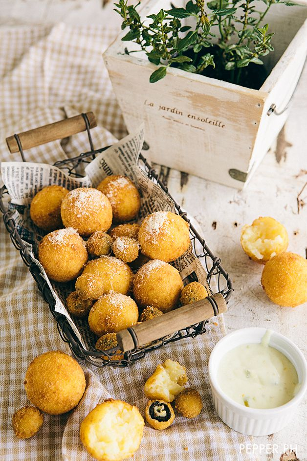 Risotto Balls with Jalapeno Dip | Pepper.ph