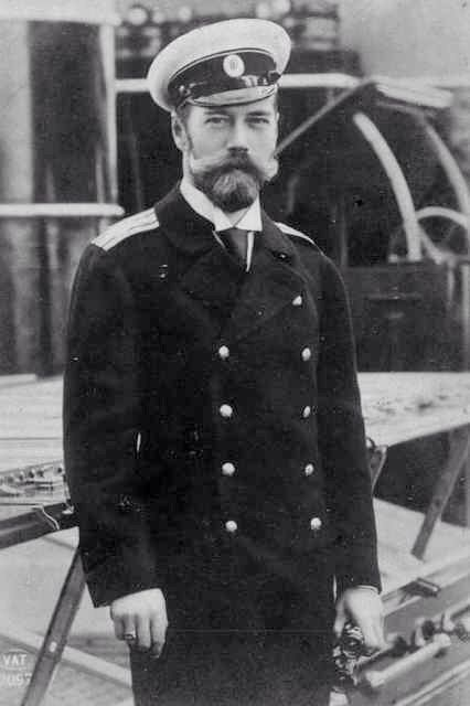 Handsome Man Bearded Edwardian Naval Navy Uniform Sailor Sea Captain Tsar Nicholas II Russia Black & White Vintage Photography Photo Print by EclecticForest on Etsy https://www.etsy.com/listing/196673720/handsome-man-bearded-edwardian-naval