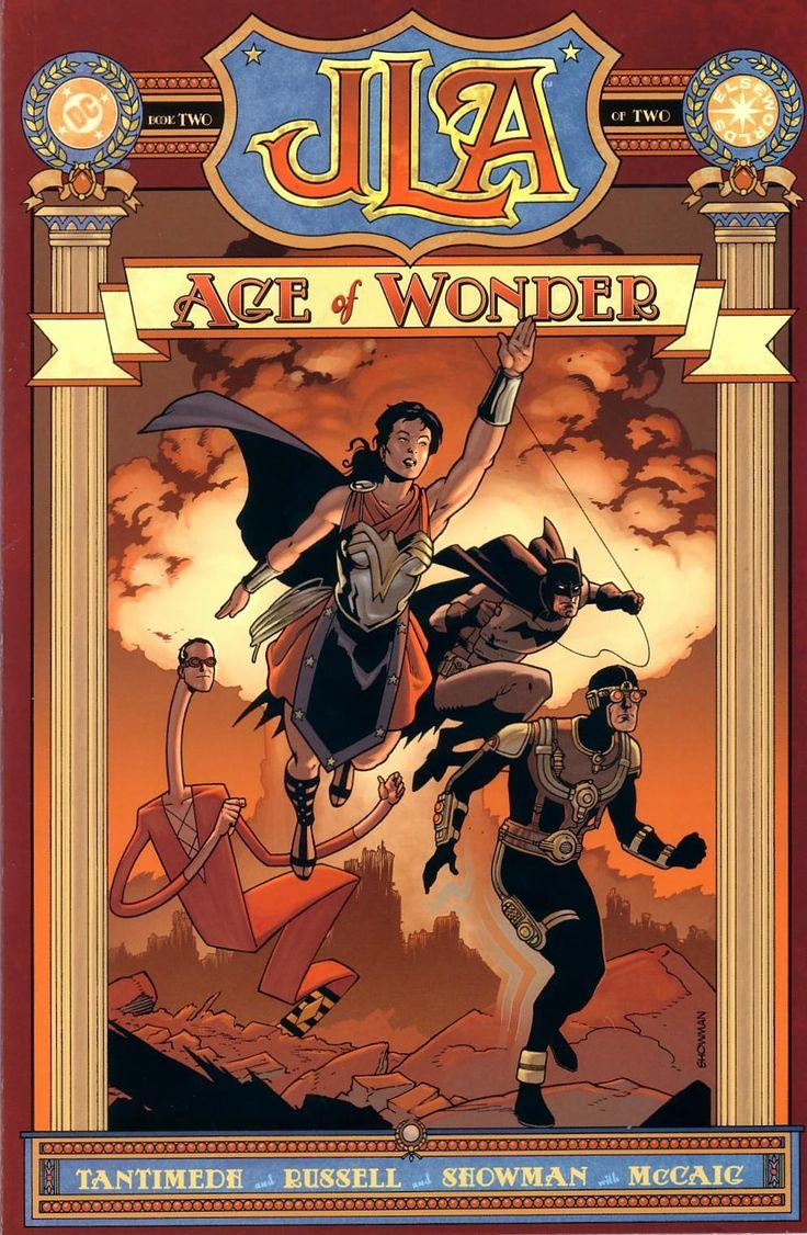 Jla Age Of Wonder #steampunk