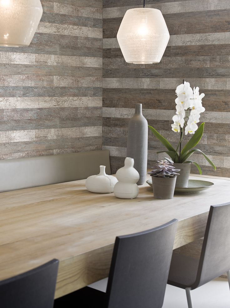 Concrete, unfinished wood surfaces, cement, and even old newspaper print combine to make Elements. This industrial look is increasingly popular, and our studio have kept colours neutral for maximum impact. Shades of grey, warm sand and stone dominate. Surfaces are smooth to touch, in contrast with the rough raw look [...]