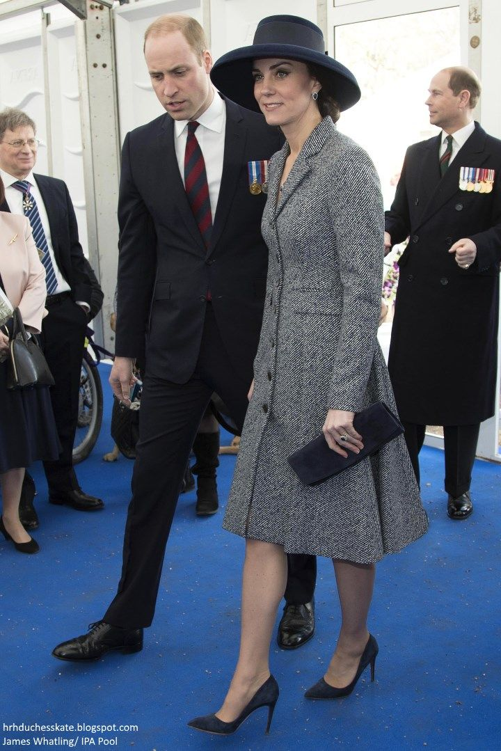The Duke and Duchess of Cambridge and other members of the royal family joined the Queen and the Duke of Edinburgh for a service of dedicati...