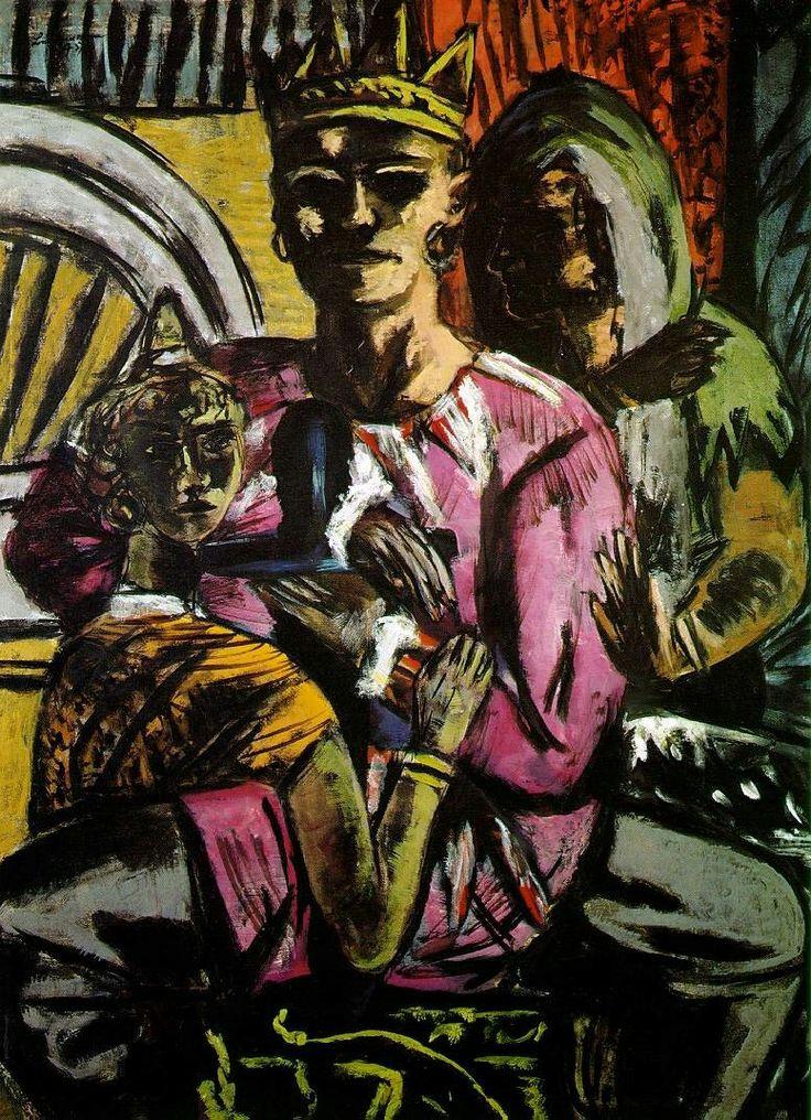 Max Beckmann: The King (1937)