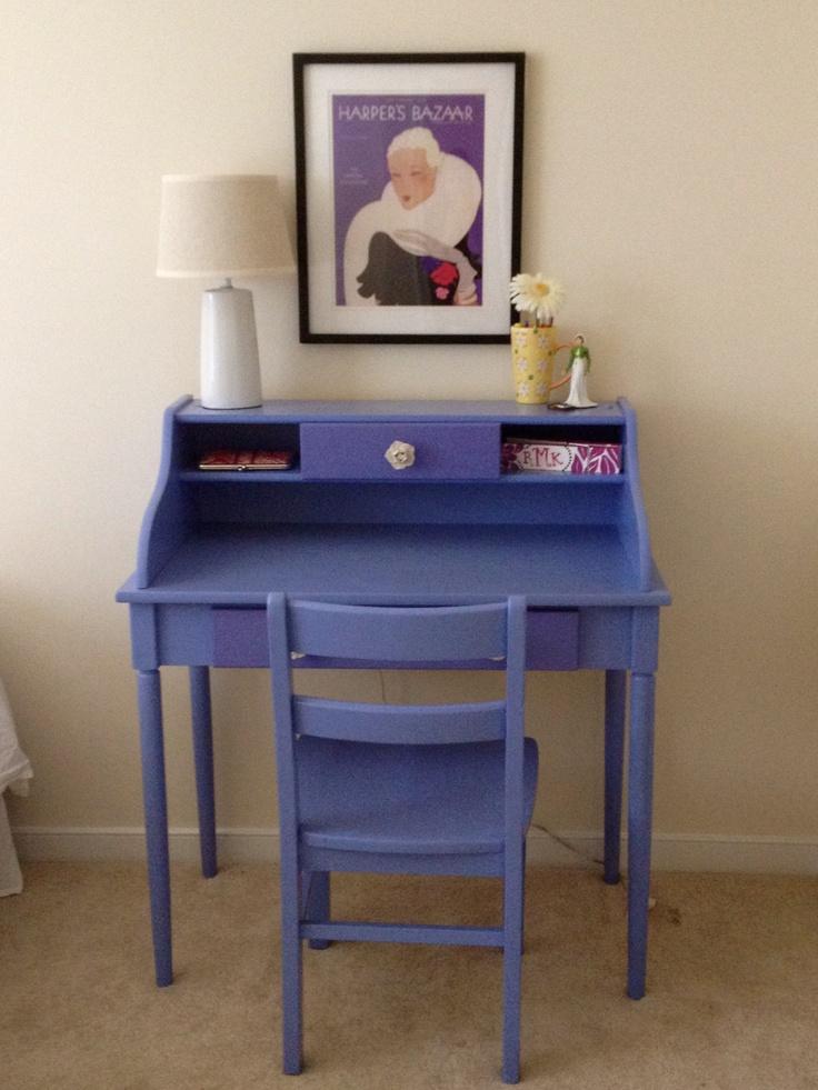 painted desk.
