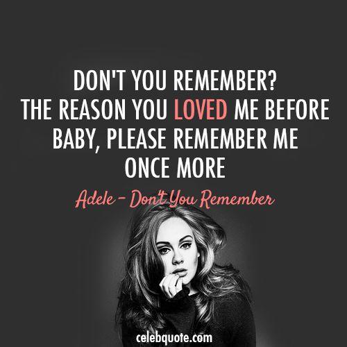 1000+ Ideas About Adele Lyrics On Pinterest