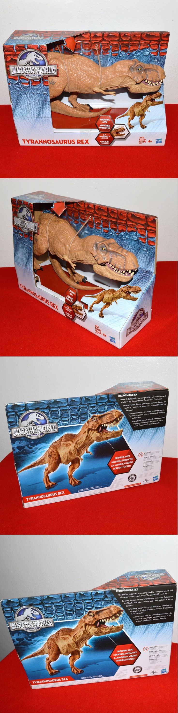 Animals and Dinosaurs 175692: Jurassic World Tyrannosaurus Rex Action Figure Chomping Toy 16 T-Rex Park -> BUY IT NOW ONLY: $35.99 on eBay!