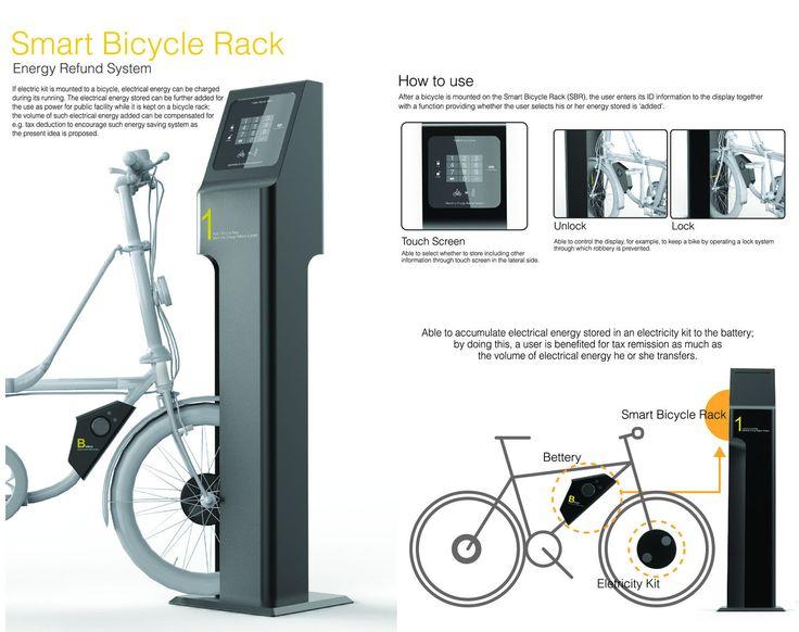 Smart bicycle Rack   Bicycle Energy Storage   Beitragsdetails   iF ONLINE EXHIBITION