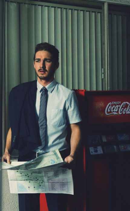 Shia LaBeouf....i have been in love with this man since he was on Even Stevens and i will always love him haha