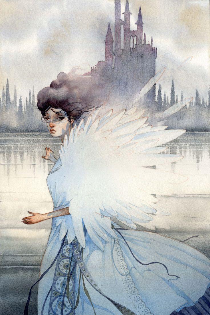 Swan - private commission - © Gianluca KU Garofalo