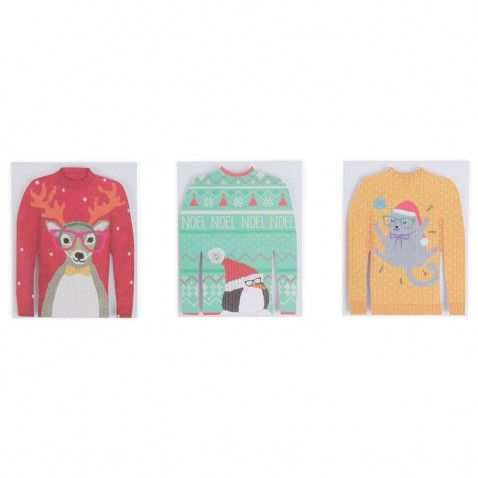 Christmas jumper cards - Paperchase