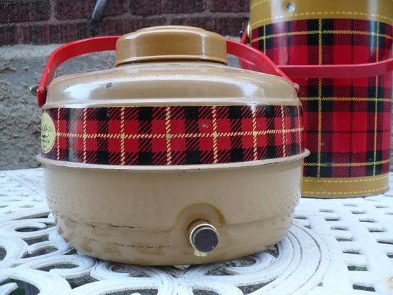 Vintage Skotch O Matic Lowbox Insulated Jug by The Hamilton Co./Ohio