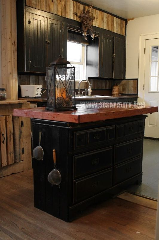 Kitchen Island Made With Pallets best 25+ pallet countertop ideas on pinterest | wood kitchen