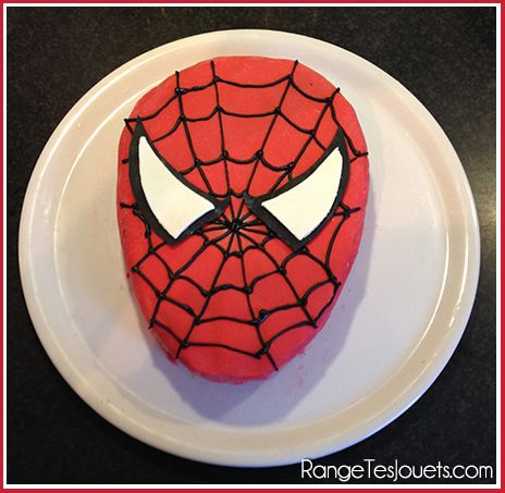gateau-spiderman-super-heros