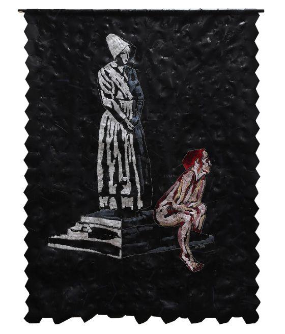 Hannalie Taute at Knysna Fine Art 2015