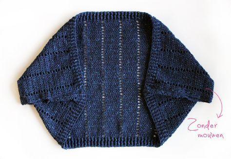 Haak deze blitse shrug als originele aanvulling op je kledingkast! Wil je wel of juist geen mouwen? Kies jouw variant uit ons gratis patroon op onze blog.