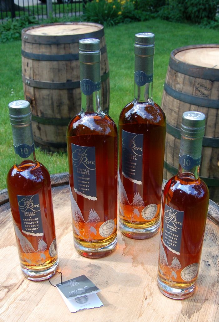 Eagle Rare - one of the first bourbon I ever LOVED.