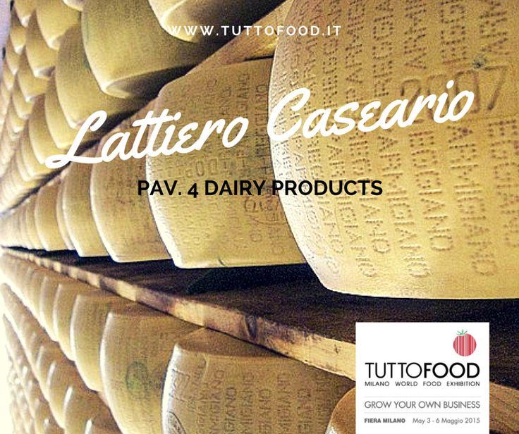 TUTTOFOOD 2015 | LATTIERO CASEARIO #Tuttofood2015 #Milano