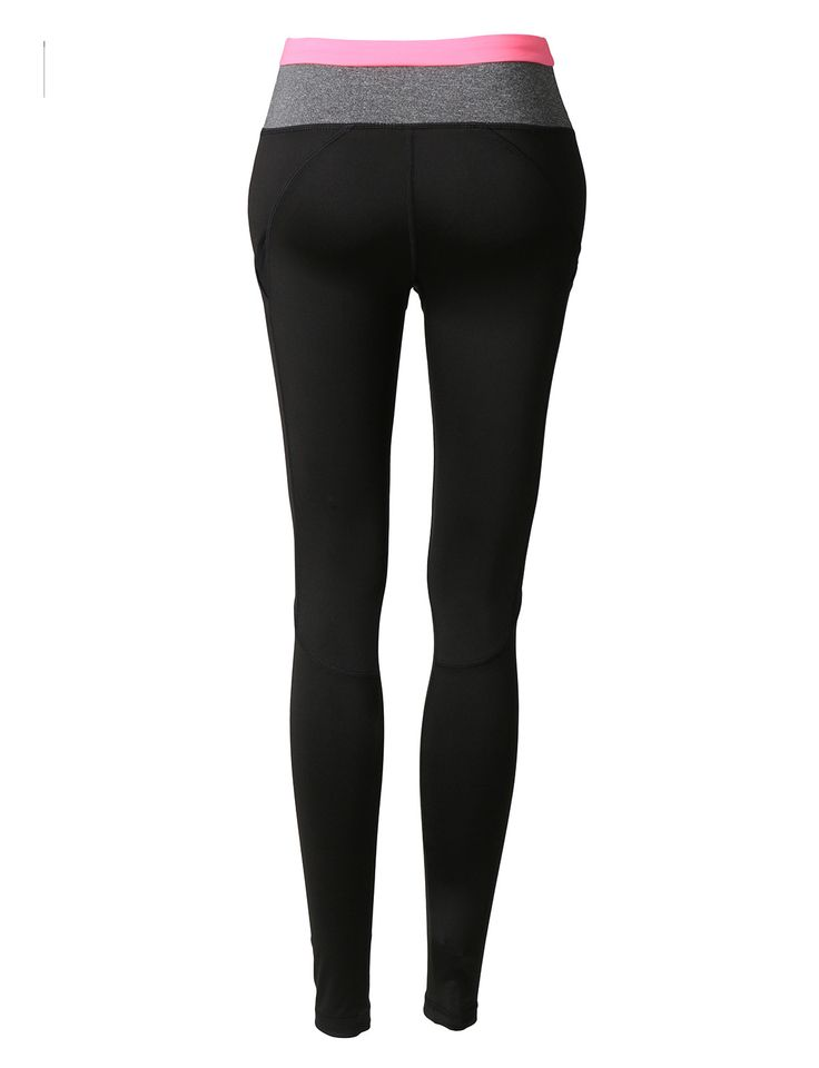 LE3NO Womens Workout Ankle Length Yoga Pants with Pockets
