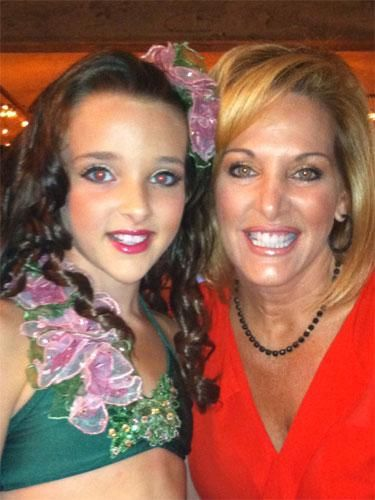 Kendall and her mom from dance moms.they like even better close up.
