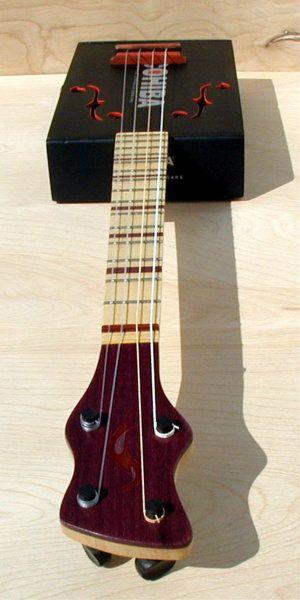 Sonny Daze COHIBA & Purple Heart baritone ukulele - Cigar Box Nation