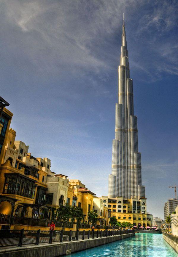 Burj Khalifa – 828 m