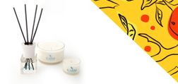 Scented Aromatherapy Candles from the Karm Invigorate Collection