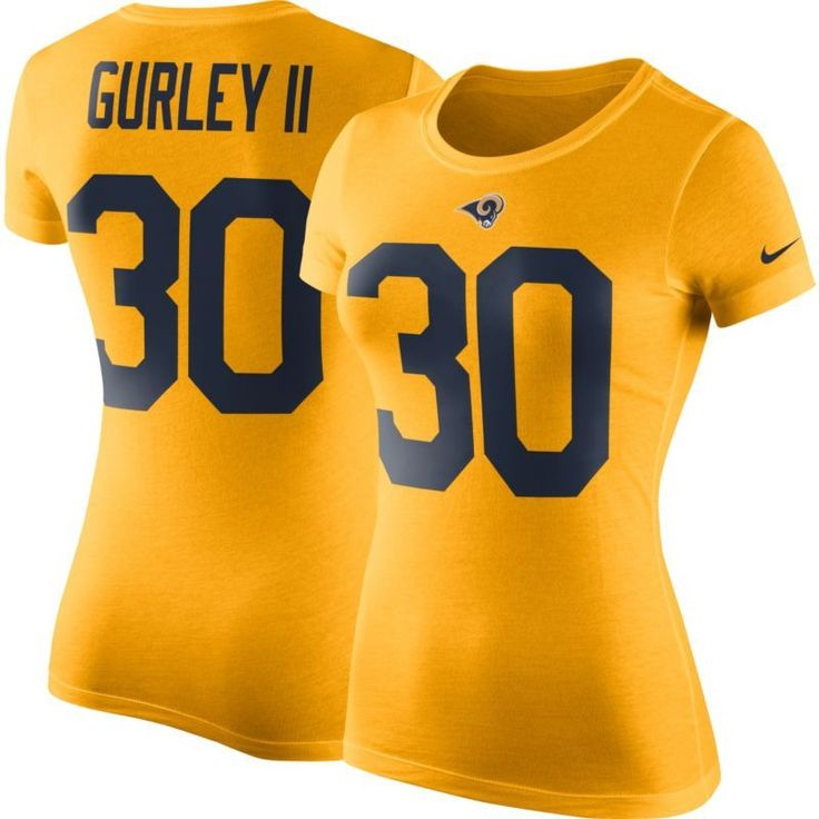 Nike Women's Los Angeles Todd Gurley #30 Pride T-Shirt