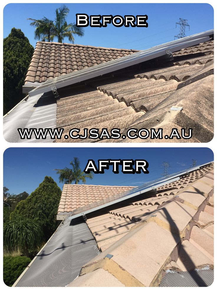 www.cjsas.com.au Pressure cleaned tiled roof Brisbane  Australia