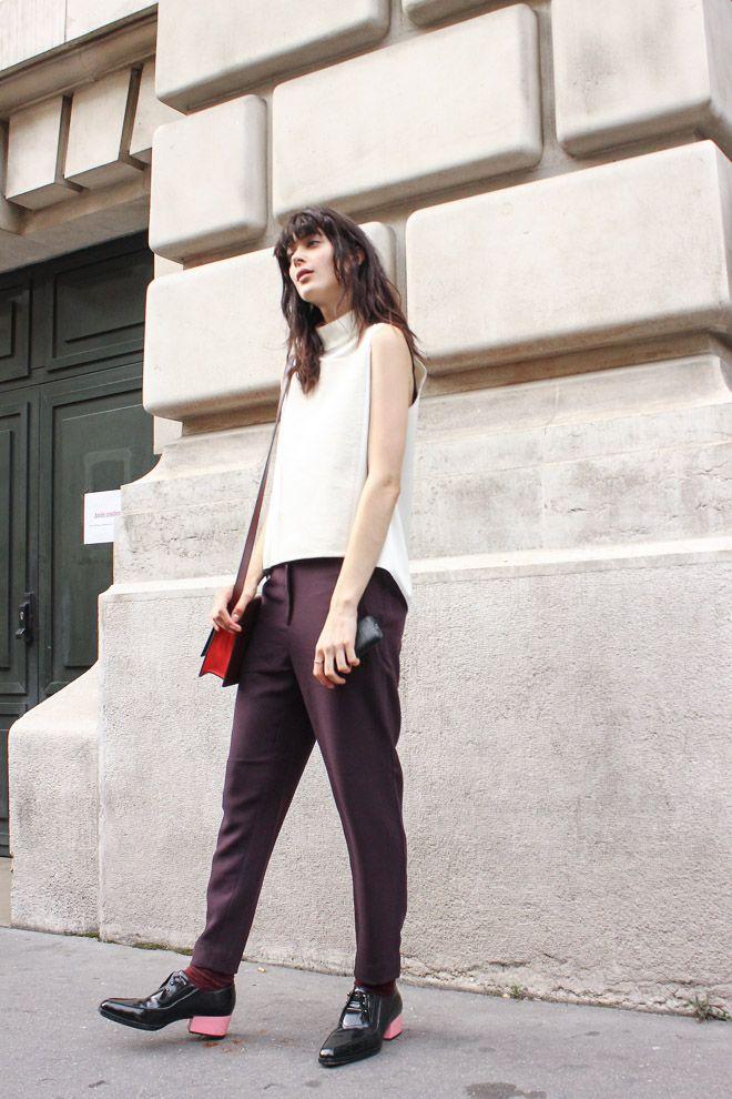 ストリートスナップパリ - LARISSA HOFMANNさん   Fashionsnap.com