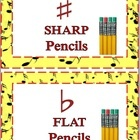 FREE Download   Cut to size-Attach to containers for SHARP pencils and FLAT pencils