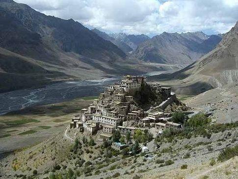 Ki-Monastry, Himachal Pradesh (Spiti Valley)
