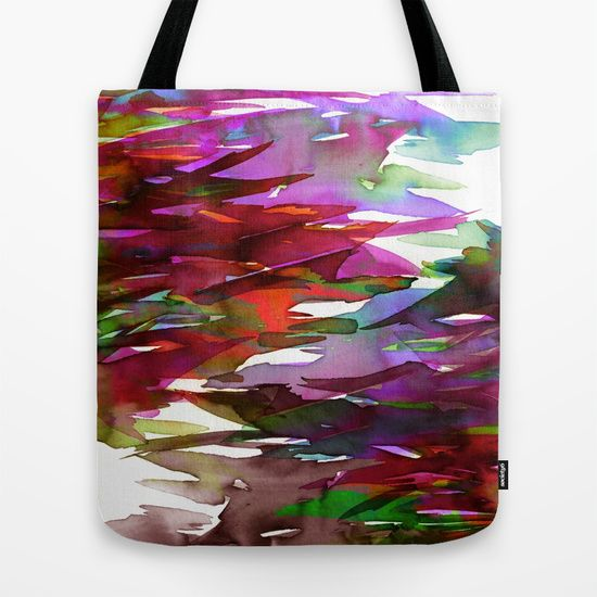 """""""Fervor 3"""" by Ebi Emporium on @society6 Canvas Art Tote Bag, Watercolor Modern Fashion Accessories Colorful Fine Art Abstract Fall Painting Purple Fuchsia Magenta Burnt Orange Red Green Yellow #autumn #colorful #abstract #fineart #art #painting #boldcolors #fall #totebag #canvastote #canvasbag #bag #tote #fallfashion #shoulderbag #carryall #EbiEmporium #Society6 #bookbag #watercolor"""