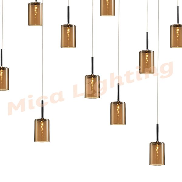 Buy The Marden Design Lucy 21 Light Pendant Amber Today
