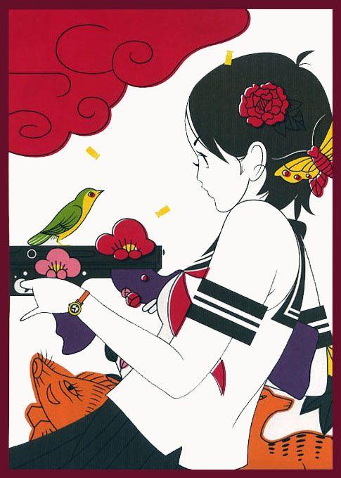 Nakamura Yusuke (中村佑介) 1978-, Japanese Artist
