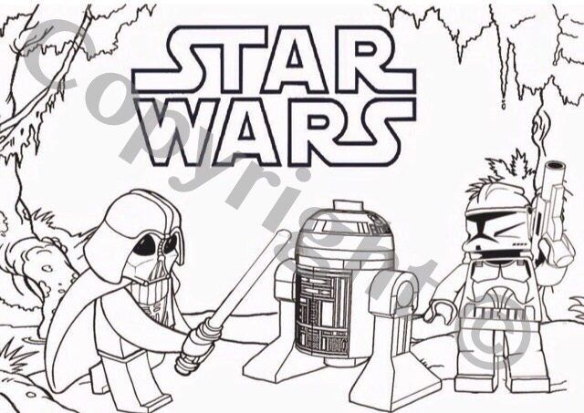 Star Wars Instant Download Colouring Darth Vada Foldable Etsy Star Wars Coloring Sheet Star Wars Coloring Book Lego Coloring Pages