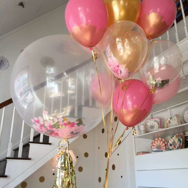 Best 20 bridal shower balloons ideas on pinterest for Balloon decoration for engagement party