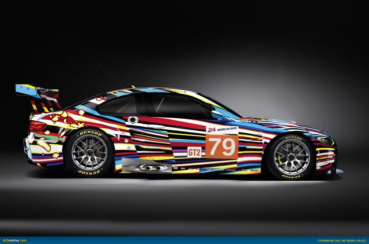 Jeff Koons - BMW Art Car - M3 GT2 - 2010