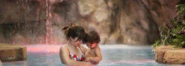 12 balnearios de España para ir con niños