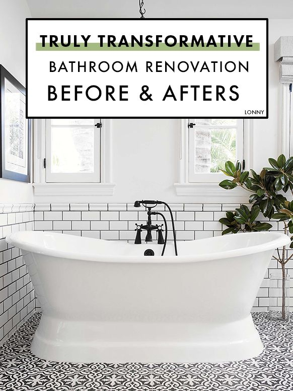 These Bathroom Reno Before U0026 Afters Are Truly Transformative