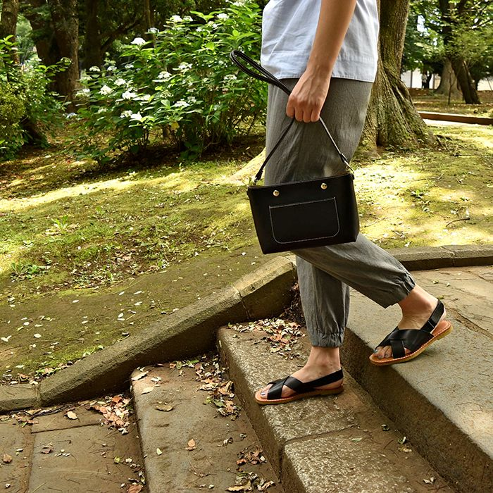 #black #nappa #leather #bag by #stevemono and #black #leather #summer #sandals by #vialis