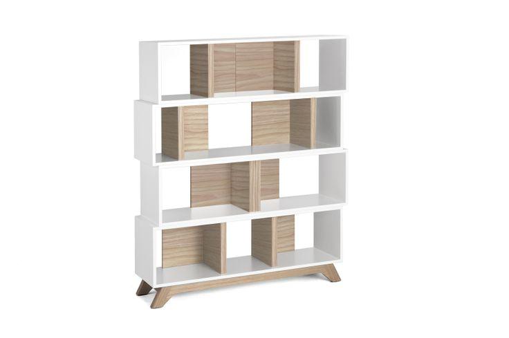 Archi01, 4 modules, limited edition with oak veneer. www.bixbit.com