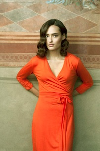 The classic wrap around dress, worn by all stars. A perfect, classic dress like also Romy loved it