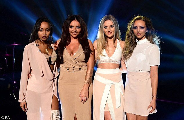 Little Mix reveal Perrie Edwards is ready to get drunk and party on tour | Daily Mail Online