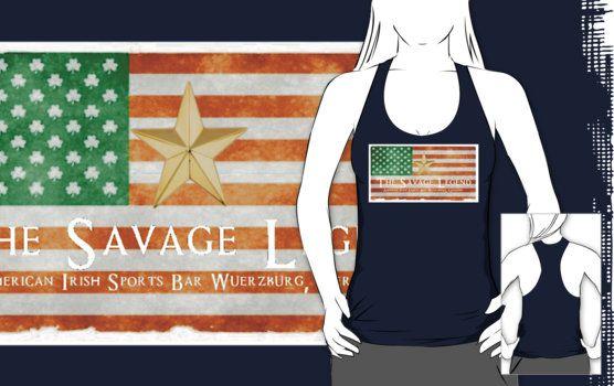 Irish American Flag With Star by SavageLegendBar