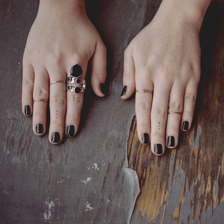#Minimal #tattoos. tattoo by Isabel Loureiro. photo by Maritza Lara