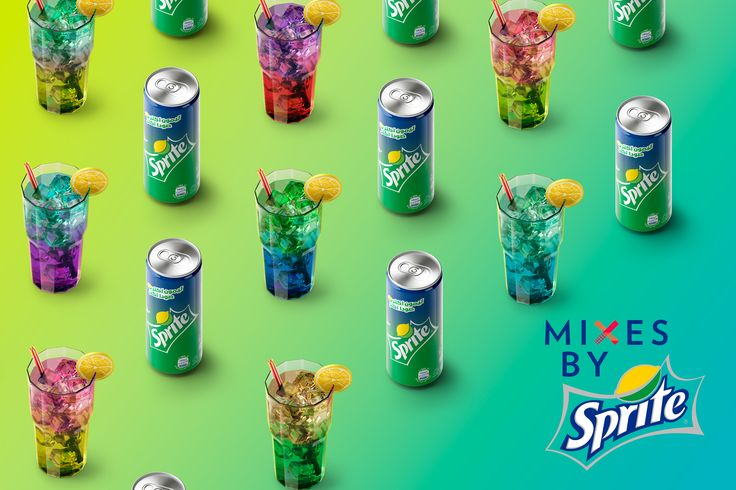Mixes by Sprite on Behance