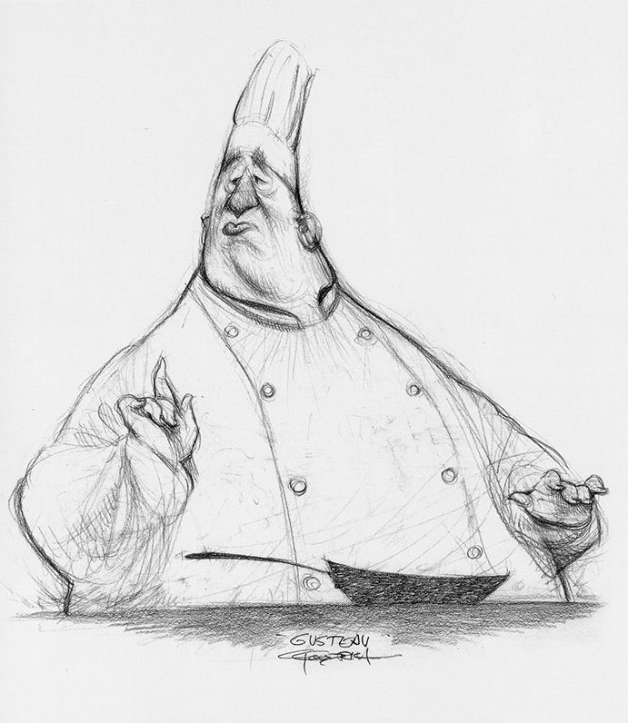 Ratatouille s Gusteau by Carter GoodrichGusteau Ratatouille