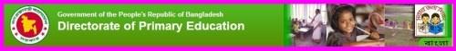 Job Circular at Primary Education 2013 dpe.gov.bd