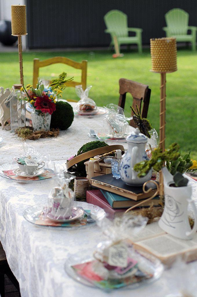 Vintage Mad Hatter Tea Party | Design Studio²