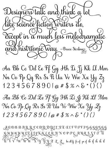 Hand Lettering-always wanted to learn to write like this